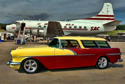 1956 Pontiac Safari Wagon by 1956 Pontiac Safari Station Wagon Photograph By Tim Mccullough
