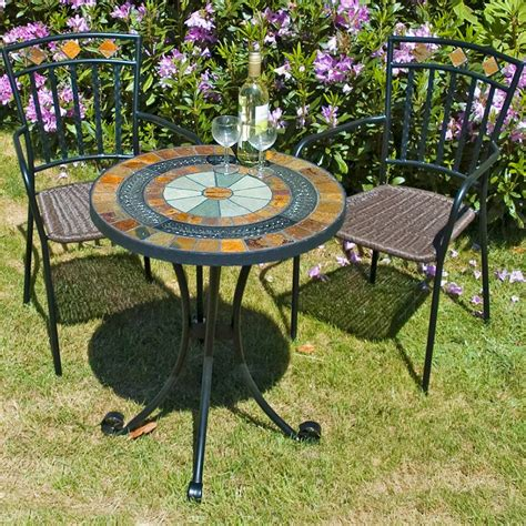 Patio Table Mosaic Mosaic Patio Table And Chairs Patio Design Ideas