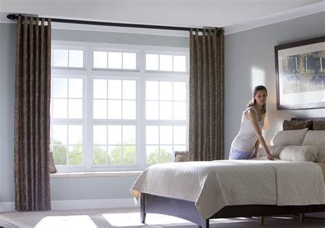 bedroom window curtains window treatments northern virginia interior decorators