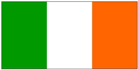 ireland flag printable