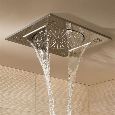 Rainshower Shower Heads by Grohe Rainshower F Series 15 Quot Multi Spray Ceiling Mounted
