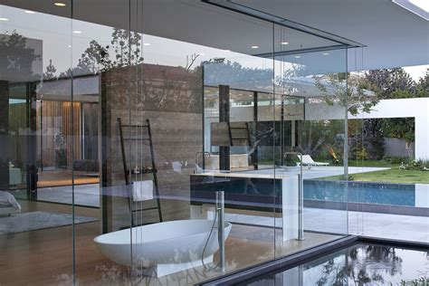 Movable Walls by Pool Glass Walls Bathroom Water Feature Float House In