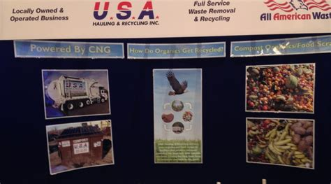 trade shows in connecticut 2014 all american waste attends the 2014 crc ct organics