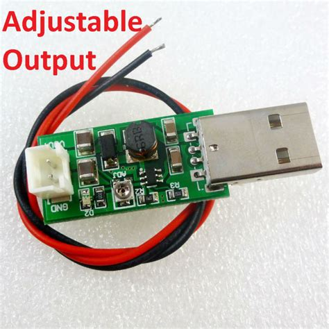 Lu Kabel Usb Led 7w 5v 7w usb dc 5v to 6v 9v 12v 15v adjustable output dc dc converter step up boost module for led