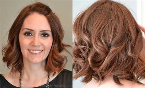 car mal highlight on wavy bob hair cut 15 short hairstyles for wavy hair short hairstyles 2017