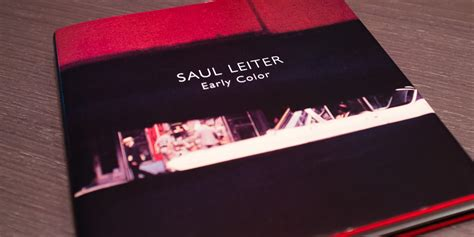 libro saul leiter early color de saul leiter rubixephoto