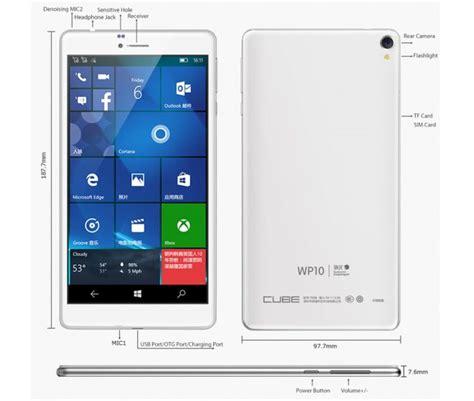 g 10 mobile cube wp10 7 inch windows 10 mobile 4g phablet taking