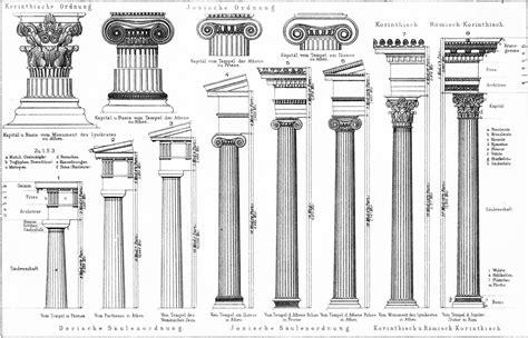 crispin technical drawing corinthian column
