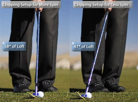 how to swing a pitching wedge how to chip get more spin from your pitch shots