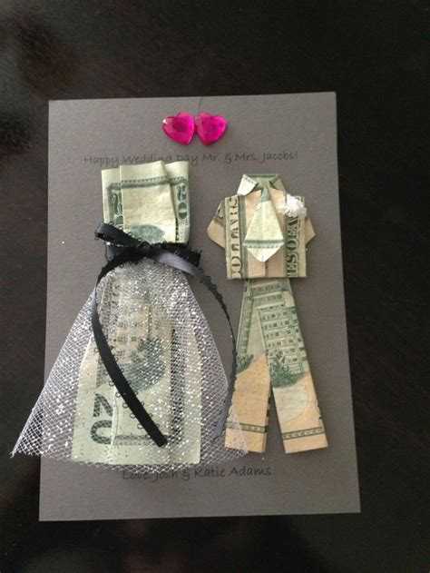 money gifts for wedding 22 creative ideas to good luck - Is A Gift Card A Good Wedding Gift