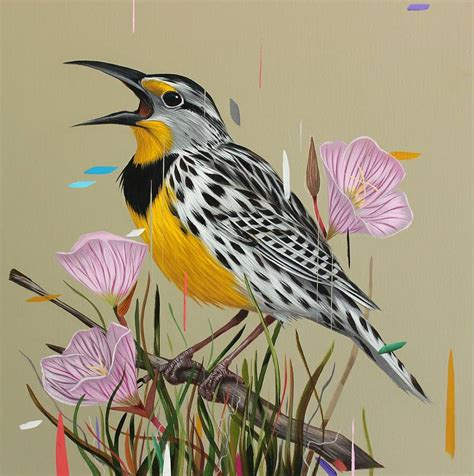 birds painting paintings of birds sprinkled with color by frank gonzales