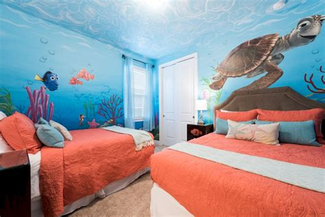 nemo themed bedroom 6 bedroom encore villa with theatre games room and pool