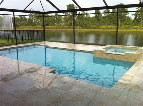 backyard designs with pool pool contemporary with fence enchanting grey cement pavers around rectangular pool with