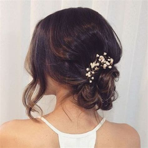 wedding hairstyles for medium length hair thats covers ears 40 best short wedding hairstyles that make you say wow