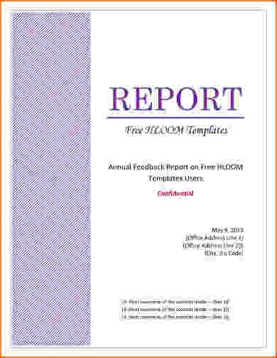 cover page for report template 5 report cover page template bookletemplate org