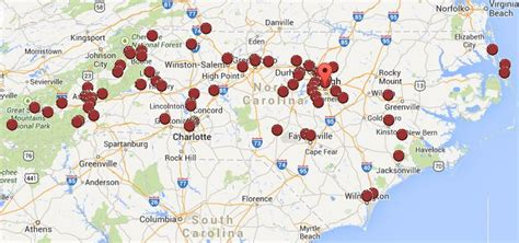carolina brewery map pin by l shomaker on all things carolina my