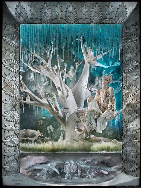 Xmas Shower Curtains Bergdorf Goodman Quot Holidays On Ice Quot Holiday Window Displays