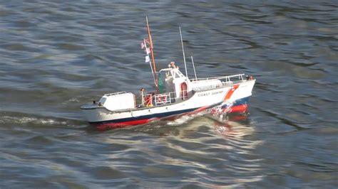 radio island boat r billing boats us coast guard scale rc model boat youtube