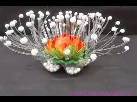 membuat kerajinan acrylic cara membuat lion dan bunga dari botol aqua plastic