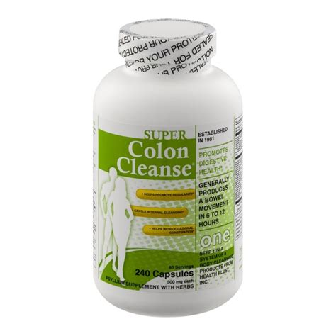 Dc Detox Herbal Supplement by Colon Cleanse Colon Cleanse Psyllum Supplement With