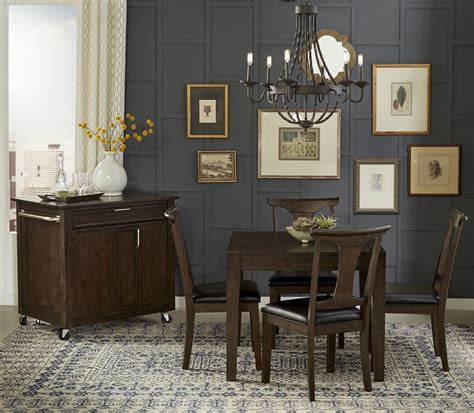 Brooklyn heights dark grey extendable square leg dining table brhwg6270 a america