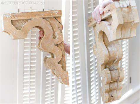 How To Make A Wood Corbel remodelaholic diy vintage inspired corbel building plan pattern
