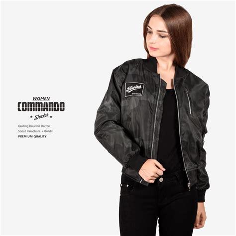 Jaket Bomber Commando Cm Original Pria Wanita audria collection
