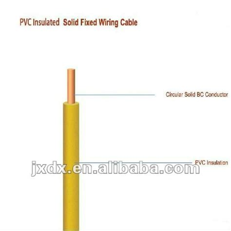 single copper solid 1 5mm 2 5mm 4mm 6mm ground wire