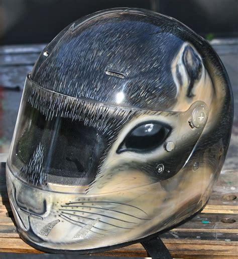 airbrushed motocross helmets squirrel airbrushed helmet motorrad