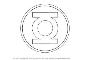 How To Draw The Logo Learn How To Draw Green Lantern Logo Green Lantern Step