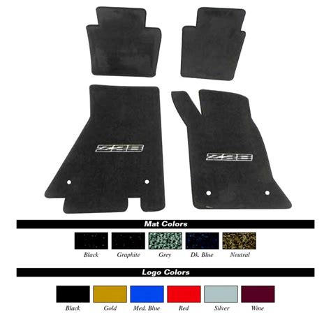 Z28 Floor Mats by 1982 1992 All Makes All Models Parts Lm2074bk 1982