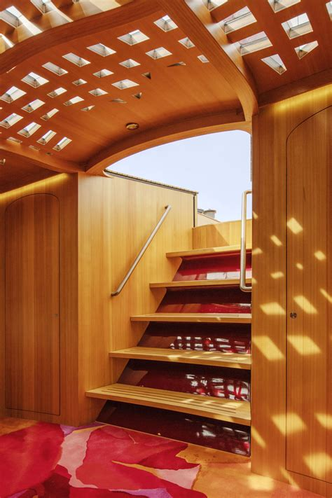 frank gehry designed yacht is all about