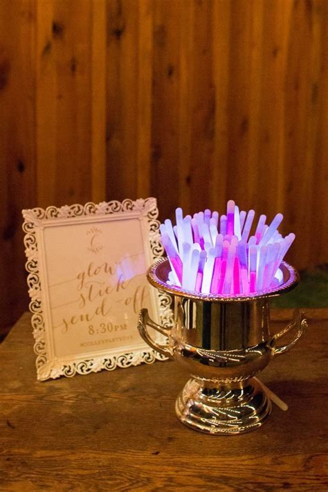 17 Best ideas about Glow Stick Wedding on Pinterest