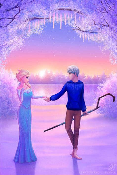 film frozen elsa and jack frozen images elsa and jack frost hd wallpaper and