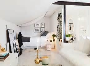 studio room apartment 34 square meter cozy attic studio apartment decoholic