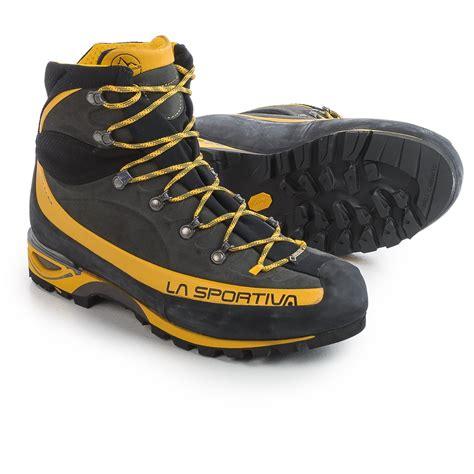 sportiva boots la sportiva tex 174 trango alp evo mountaineering boots