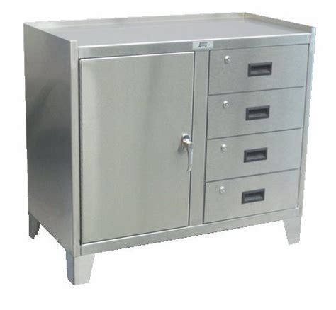 metal work cabinets one door four drawer stainless steel work height cabinet are available at a plus warehouse
