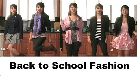 Back To School Fashion Flout by Fall Back To School Fashion Tips