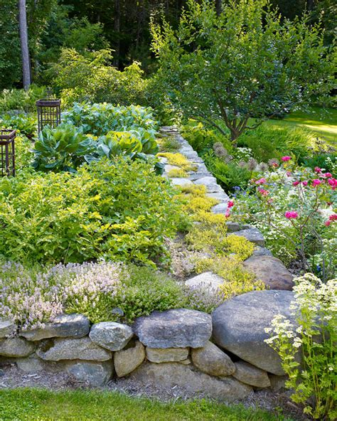 Rock Vegetable Garden 60 Great Ideas For The Garden Martha Stewart