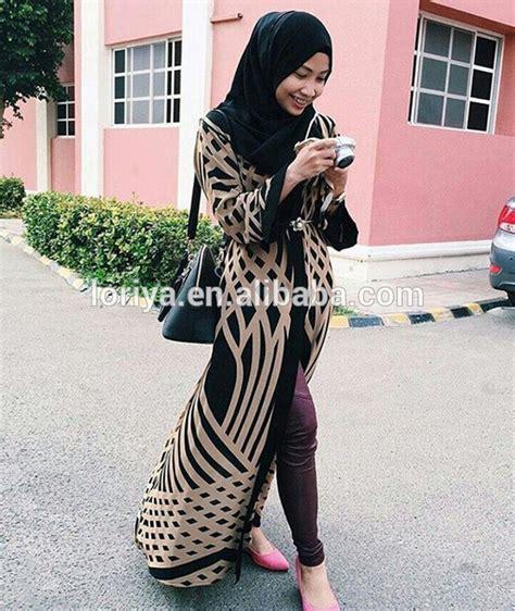 Kaftan Abaya Pesta Maxi Eliza pattern modern kimono maxi kaftan islamic open