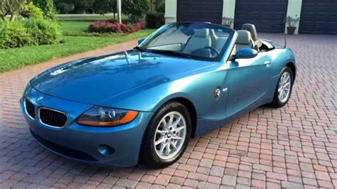 bmw z4 2004 sold 2004 bmw z4 2 5i convertible for sale by autohaus