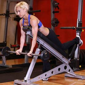 incline bench bicep curls preacher curl exercise guide and video