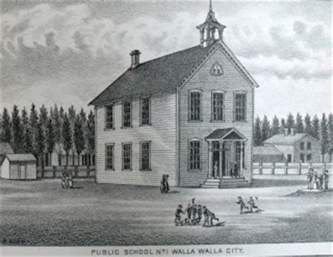 Stephens City Post Office by Bygone Walla Walla Vintage Images Of The City And County
