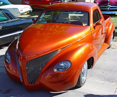 burnt orange car paint