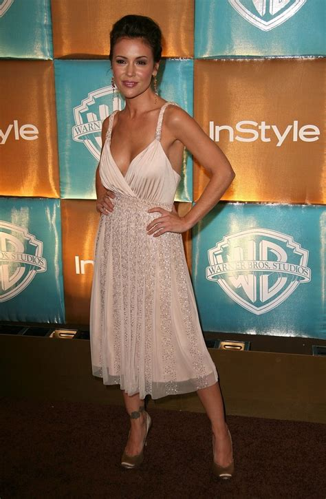 In Style And Warner Bros 2007 Golden Globe After by Alyssa Photos Photos In Style Magazine And Warner