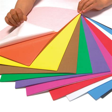 Paper Foam Crafts - self adhesive foam sheets 10 pack foam stickers