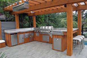 Outdoor Kitchen Furniture Furnishings Outdoor Kitchen Design Ideas Modern Kitchens