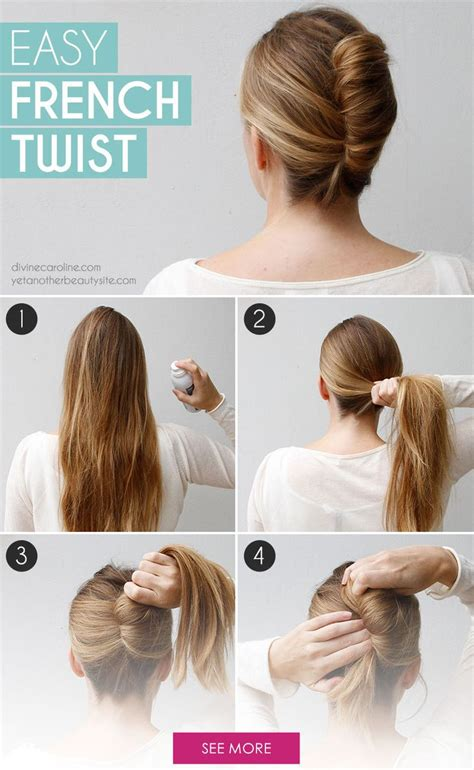 tutorial rambut french twist best 25 easy french twist ideas on pinterest french
