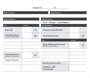 excel payslip template doc 524675 payslip sles sle pay slip employee