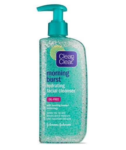 clean and clear bursting review morning burst 174 hydrating cleanser clean clear 174